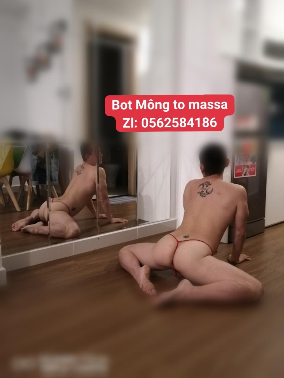 🍑 Bot Mông to làm matxa ở SG